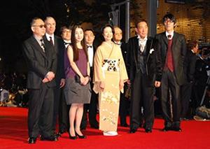 第20回東京国際映画祭レッドカーペット