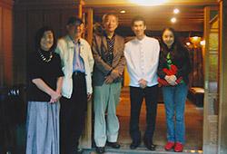 湯布院 亀の井別荘での記念写真2